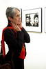Photography reception of Jim Marshall at Gallery 291, 291 Geary St., San Francisco<br /> • Joan Baez
