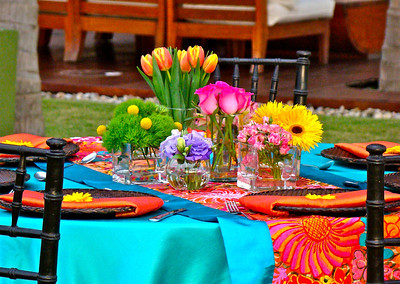 7 Childrens Round Table Setting