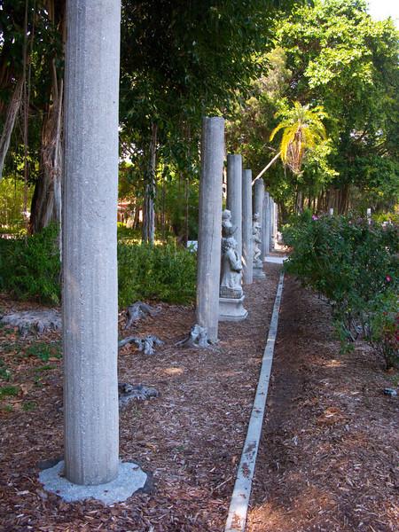 North America, USA, Florida, Sarasota. John and Mabel Ringling Mansion, Ca'd Zan