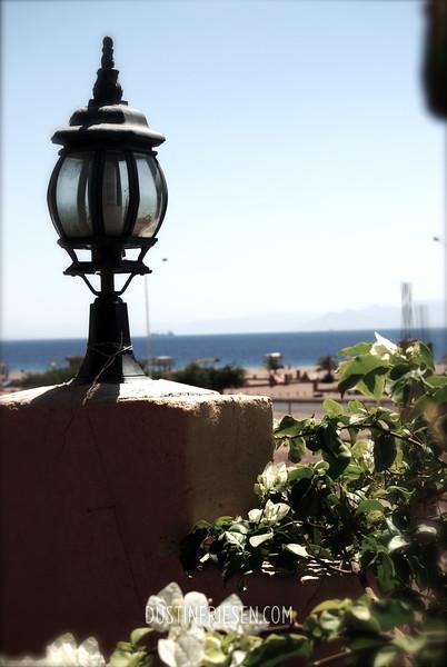 at Aqaba