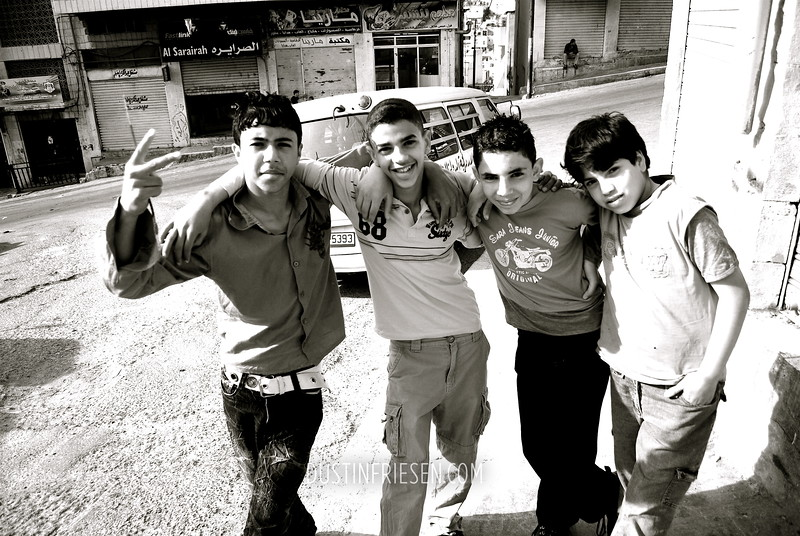 a Shebab (group of guys)