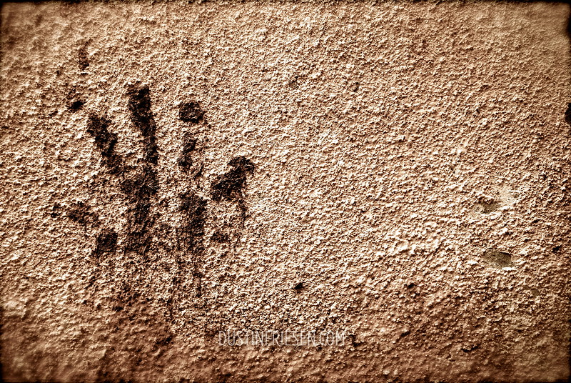 the hand print