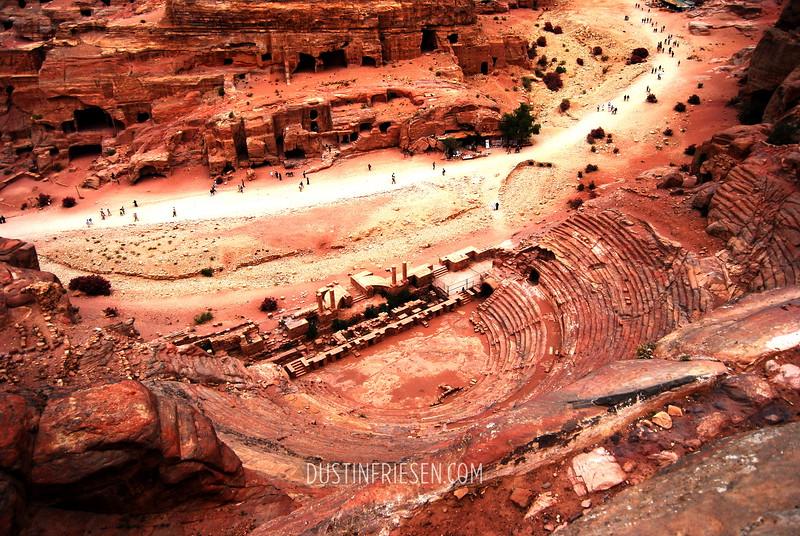 Amphitheatre in Petra