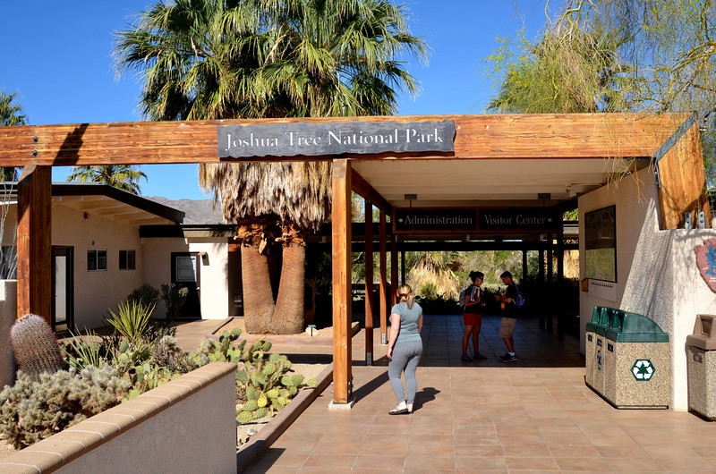 Visitor Center at Joshua Tree National Park in California