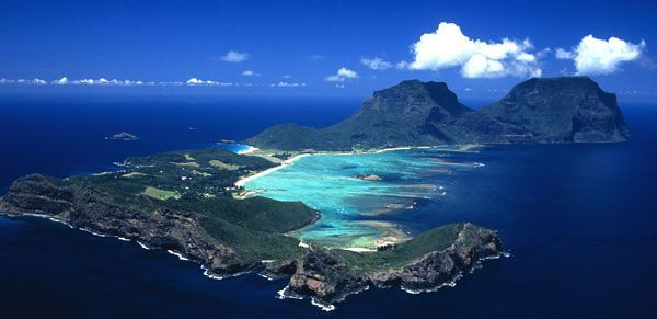 This is where I was was looking forward to go, tiny tranquil Lord Howe Island ...