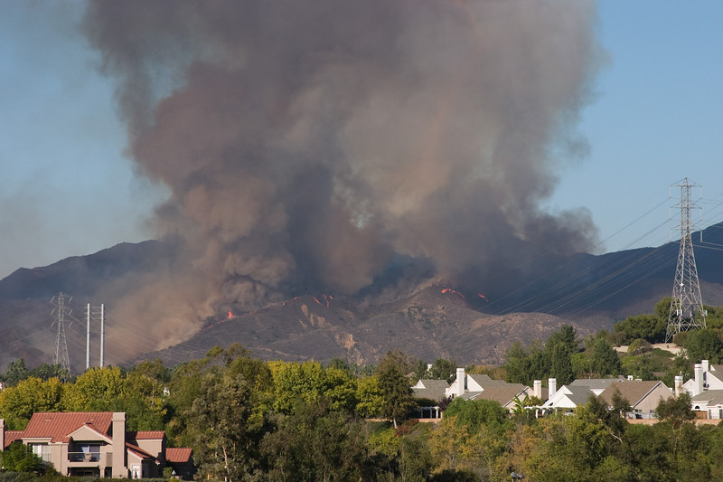 Silverado Canyon Fire