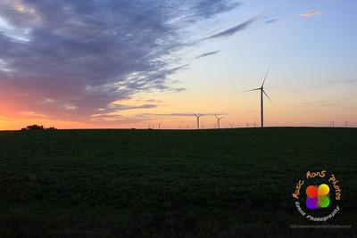Sunrise over central Illinois