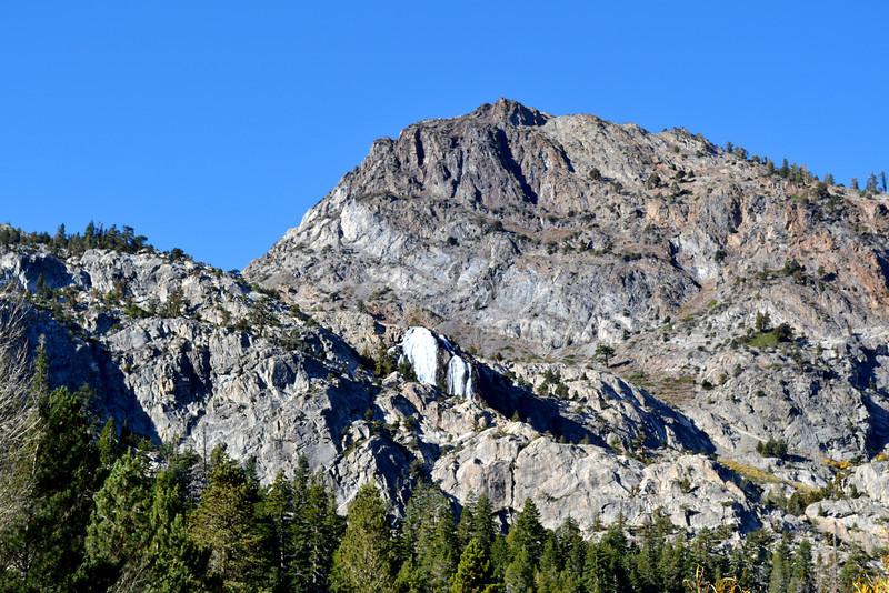 Mountains near June Lake near Mammoth Lakes California