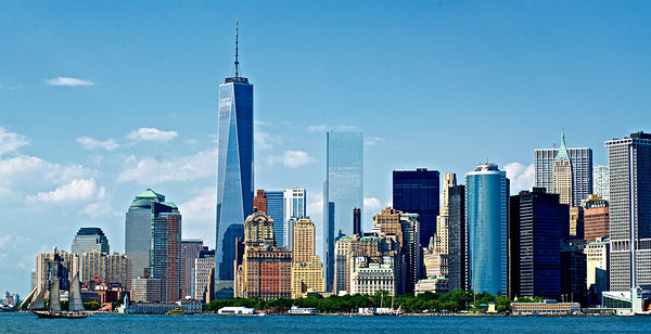 Freedom Tower and Lower Manhattan
