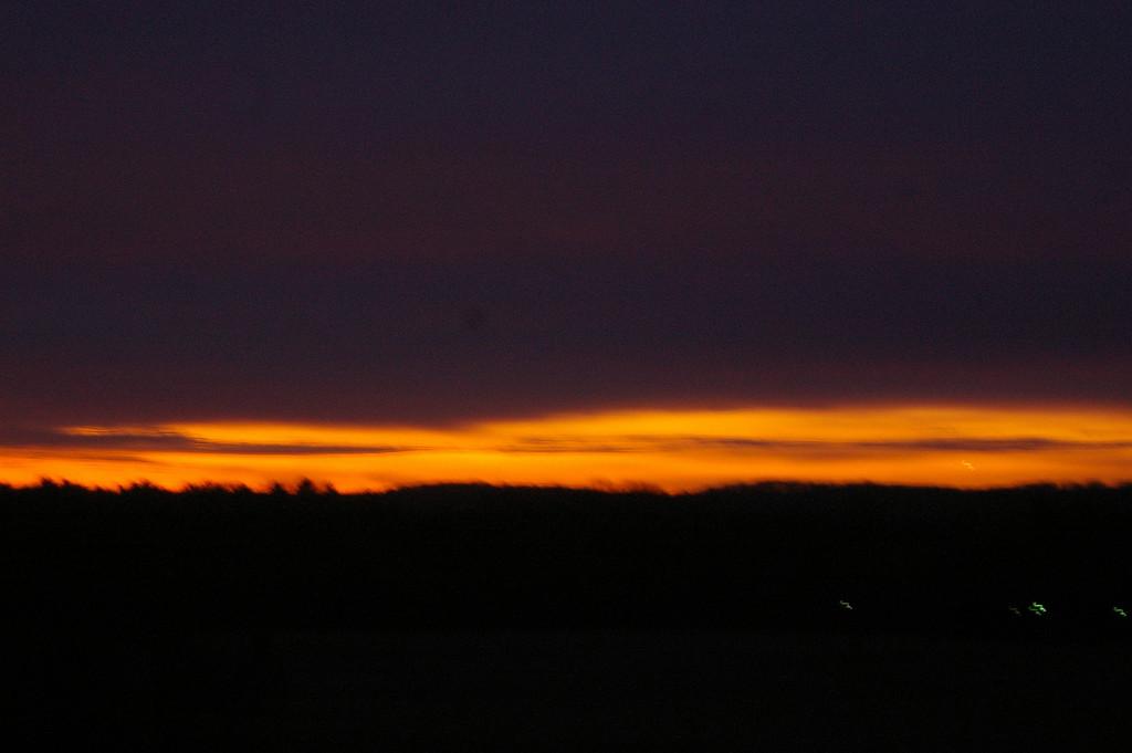 Sunrise, Valley Forge Park.