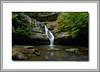 Cedar Falls Hocking Hills Photographed on 4x5 200 megapixel camera