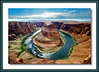 Horseshoe Bend Page, Az, river, sun, Colorado, water,