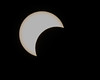 Start of the solar eclipse
