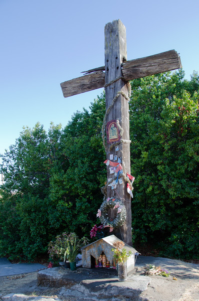 The Old Wooden Cross of The El Camino