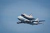 Endeavour approaches Moffett Field