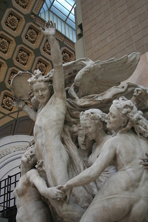 Statue in the Musee d'Orsay