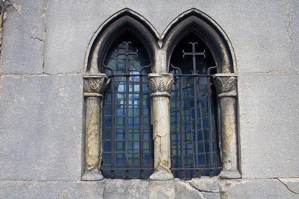 Window of Crypt in Cimetrie de Montmartre