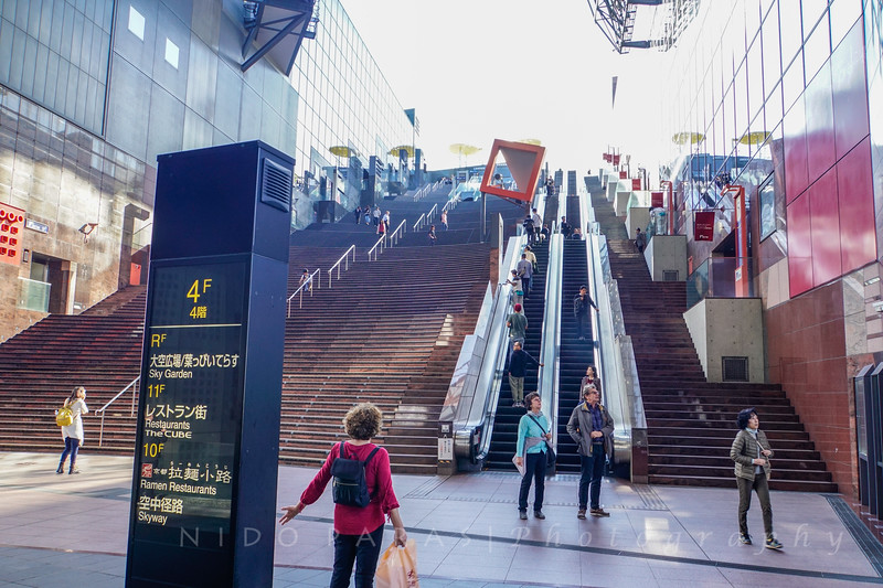 Kyoto Station - Escalator to the 12th Floor