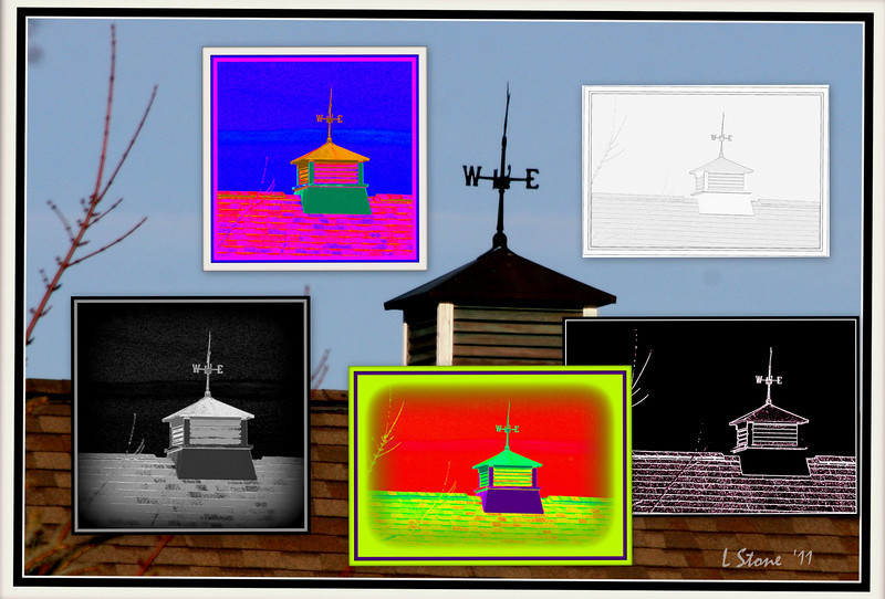 2011.12 Weather Vanes and Cupolas