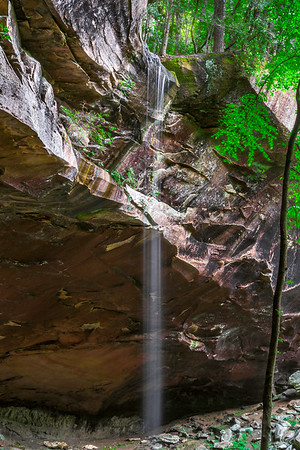 Yahoo Arch Waterfall - Big South Fork