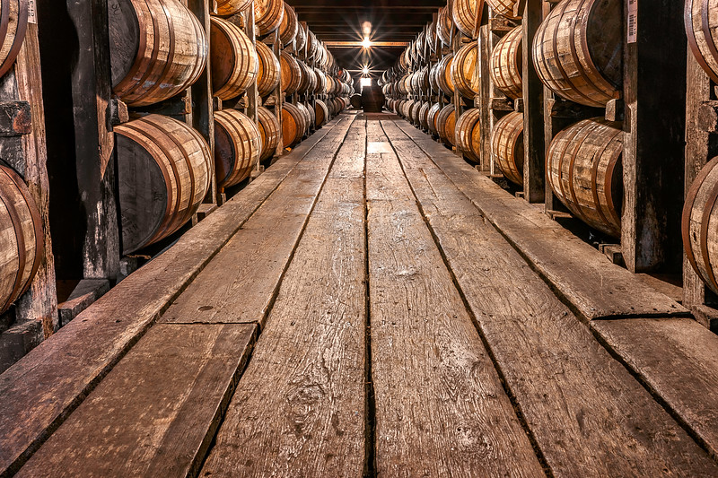 Whiskey Barrels - Buffalo Trace Distillery