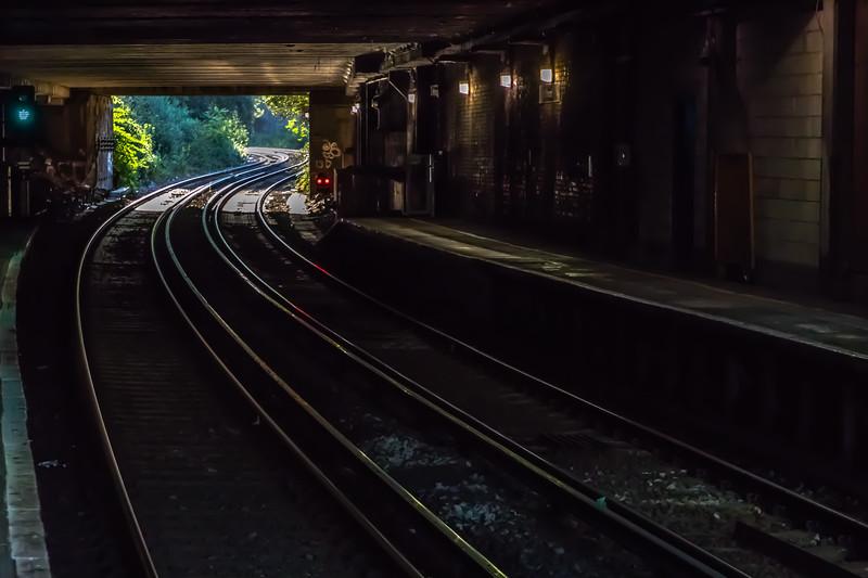 Taking train to Kew