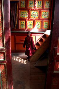 Palpung Monastery Doorway