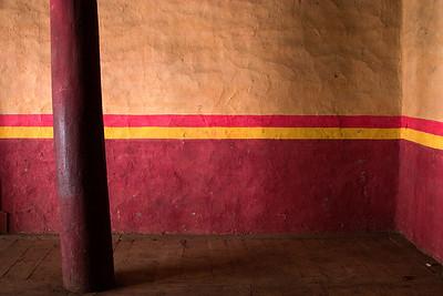 Palpung monastery wall