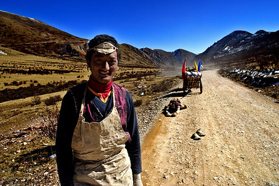 Pilgrims On The Way To Lhasa 2