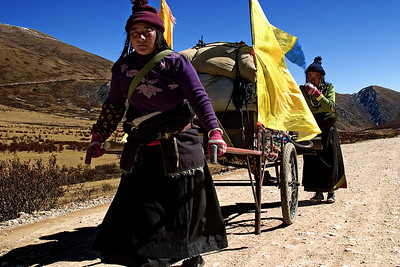 Pilgrims On The Way To Lhasa 3