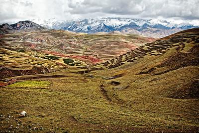 Nangchen, Tibet landscape