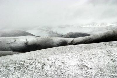 Snowy Mountain Landscape-Kham