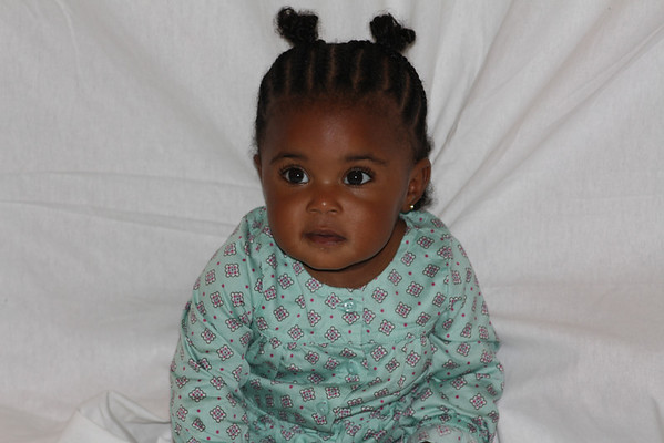 Look at my beautiful great niece.