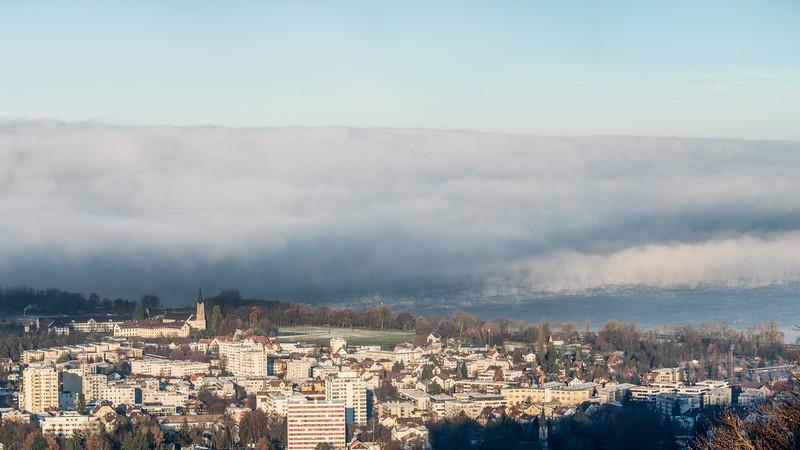 Wie der Nebel entsteht