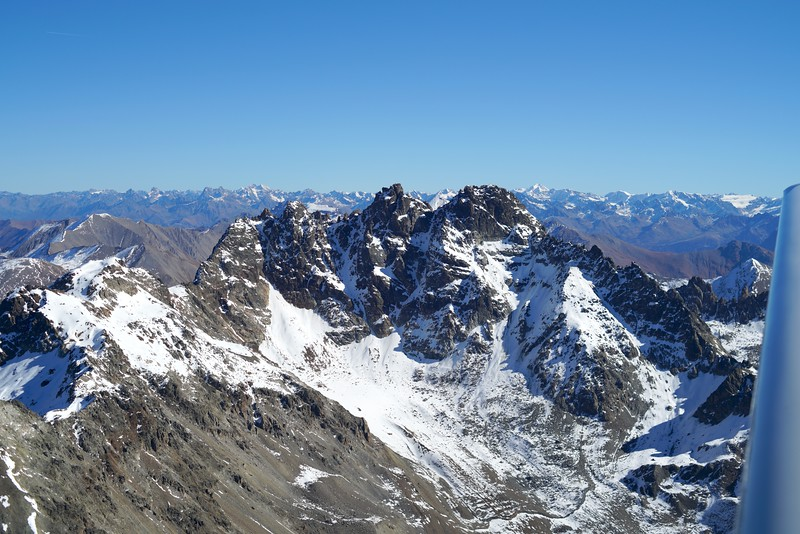 Fluchthörner Richtung Tirol