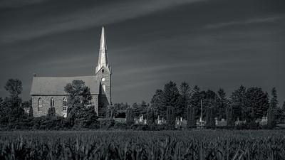 Church and Cornfield