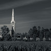 Church and Cornfield