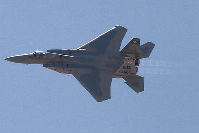 F-15 with afterburner on