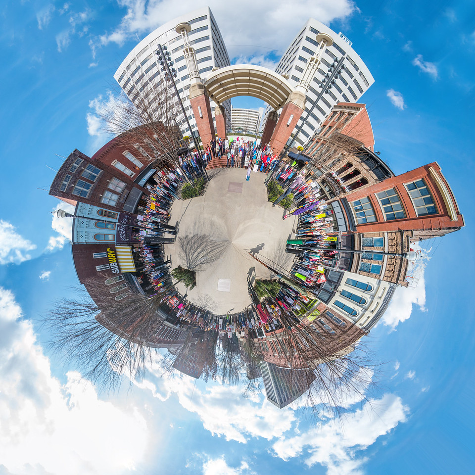 Market Square Protest Planet 3