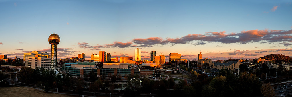Knoxville sunset Pan