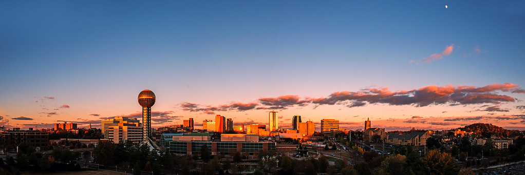 Knoxville sunset Pan 2