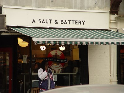 """My new favorite place to eat! """"A salt and Battery"""" in NYC Great Fish and Chips"""