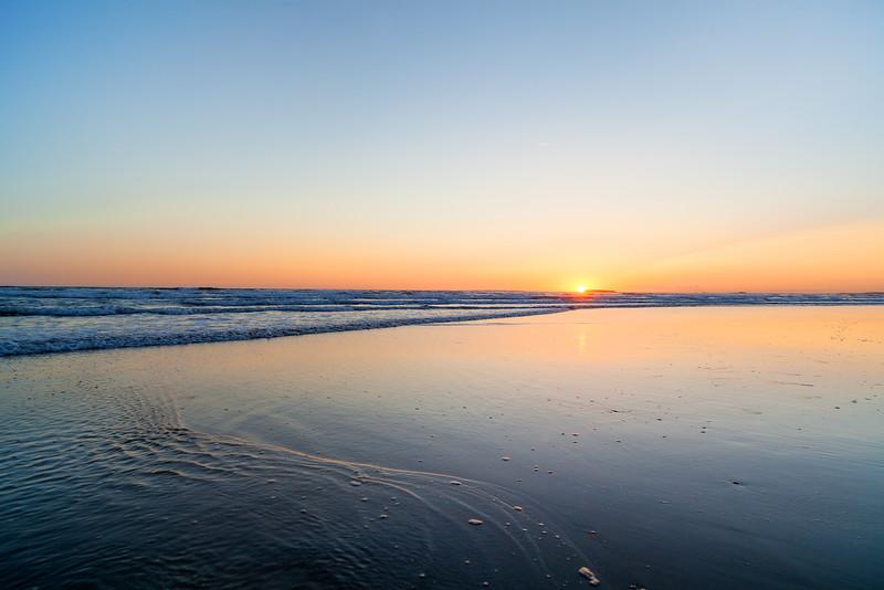 Bretagne sunset