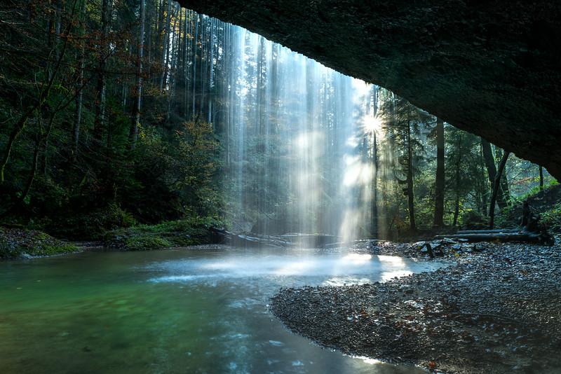 Wasserfall bei Langen bei Bregenz
