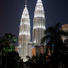 Kuala Lumpur : Petronas Towers. The three close up ones were taken without a tripod.