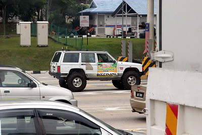 Spotted a lifted Cherokee on the way to KL