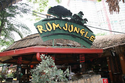 The Rum Jungle.  Had a delicious lunch here