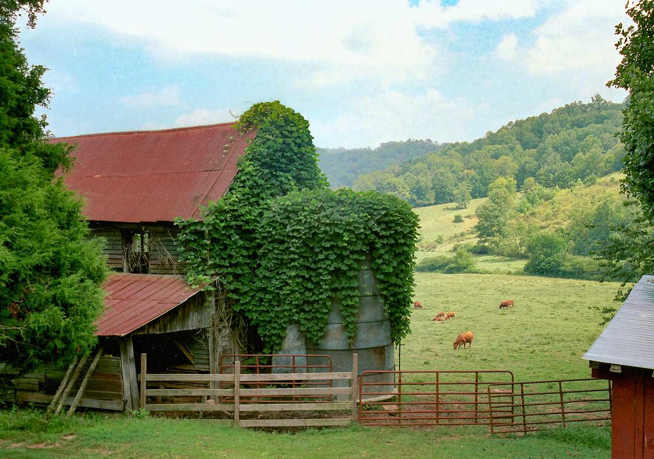 Barn on Hwy 76 west of Clayton, Ga.