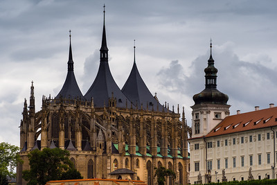 St. Barbara's Cathedral and Jesuit College, Kutna Hora