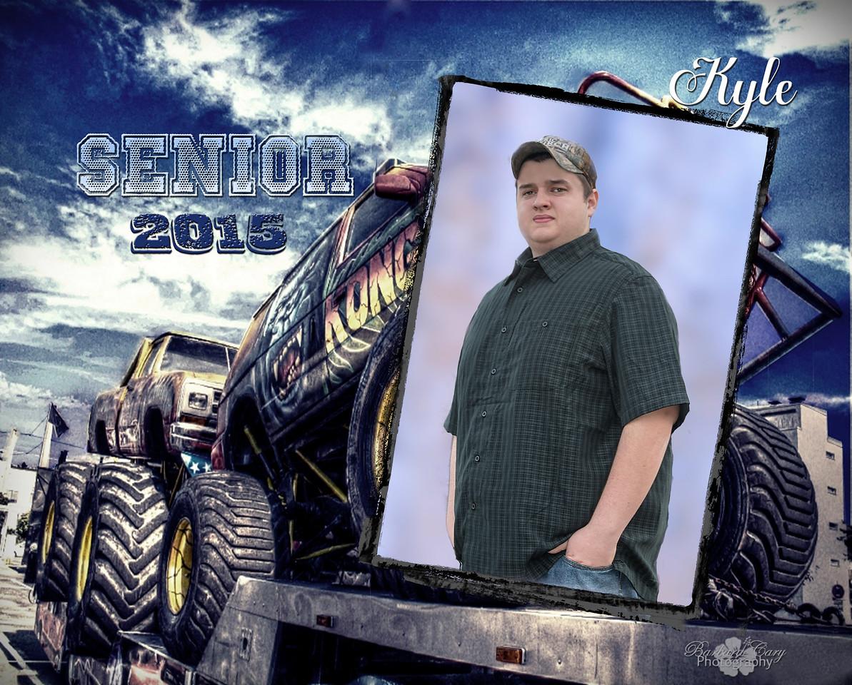 big blue truck-8x10